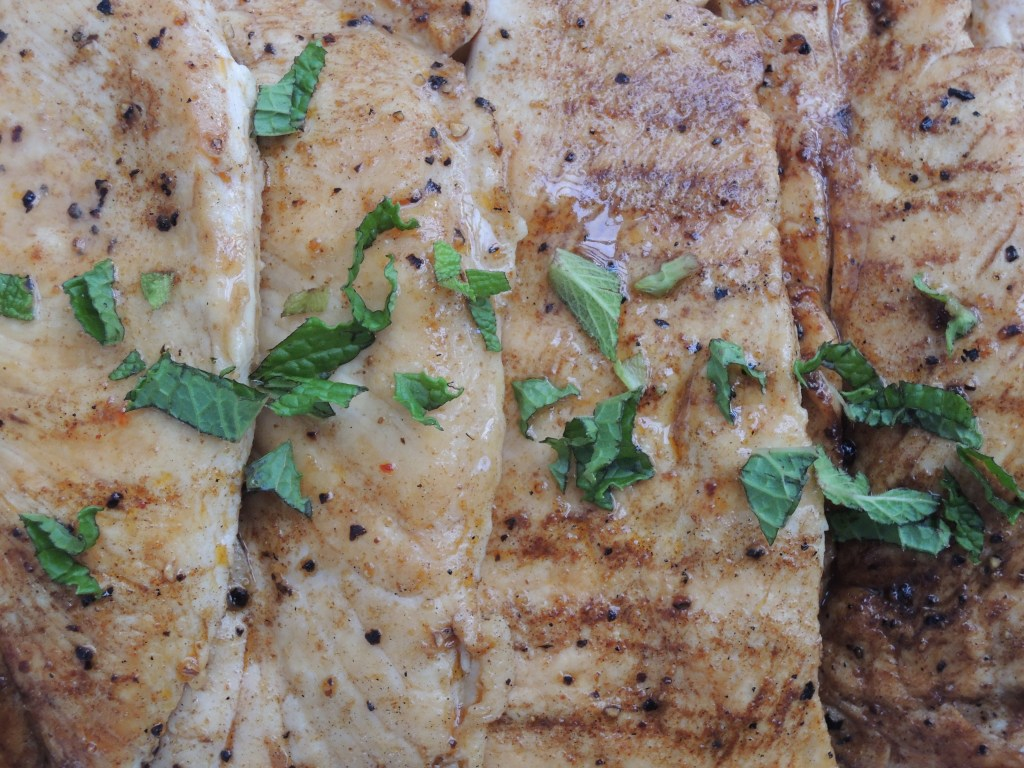 Chicken, sauteed chicken cutlets with Moroccan spices 2