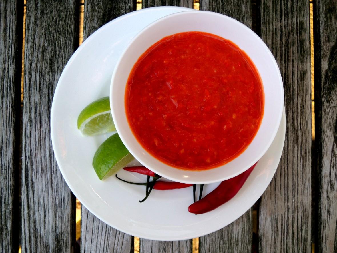 Condiments, hot sauces, sambal oelek 1