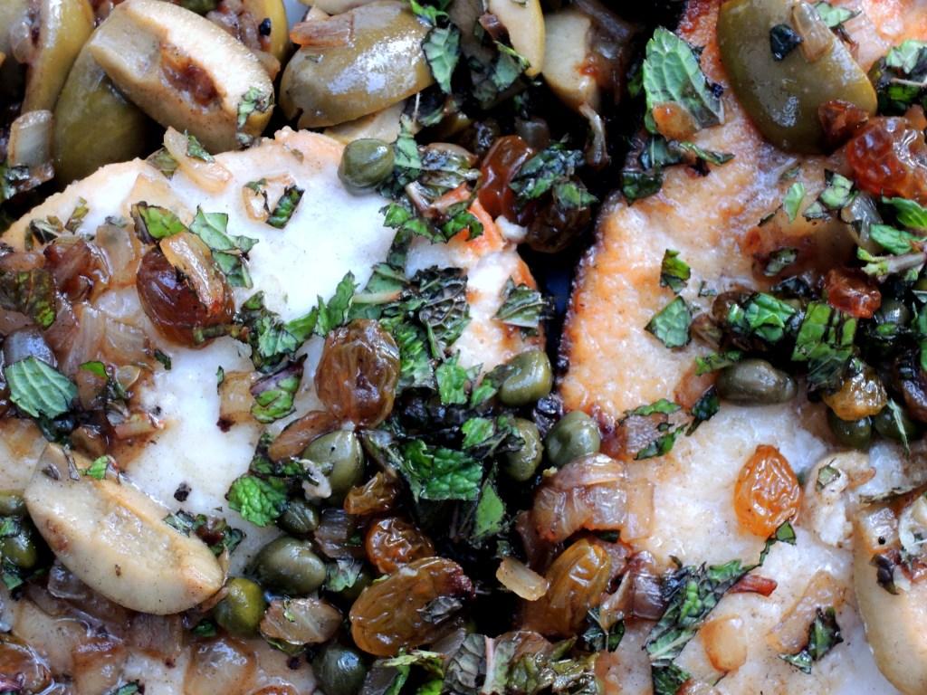 Fish, swordfish, pan-grilled swordfish steaks stemperata 2