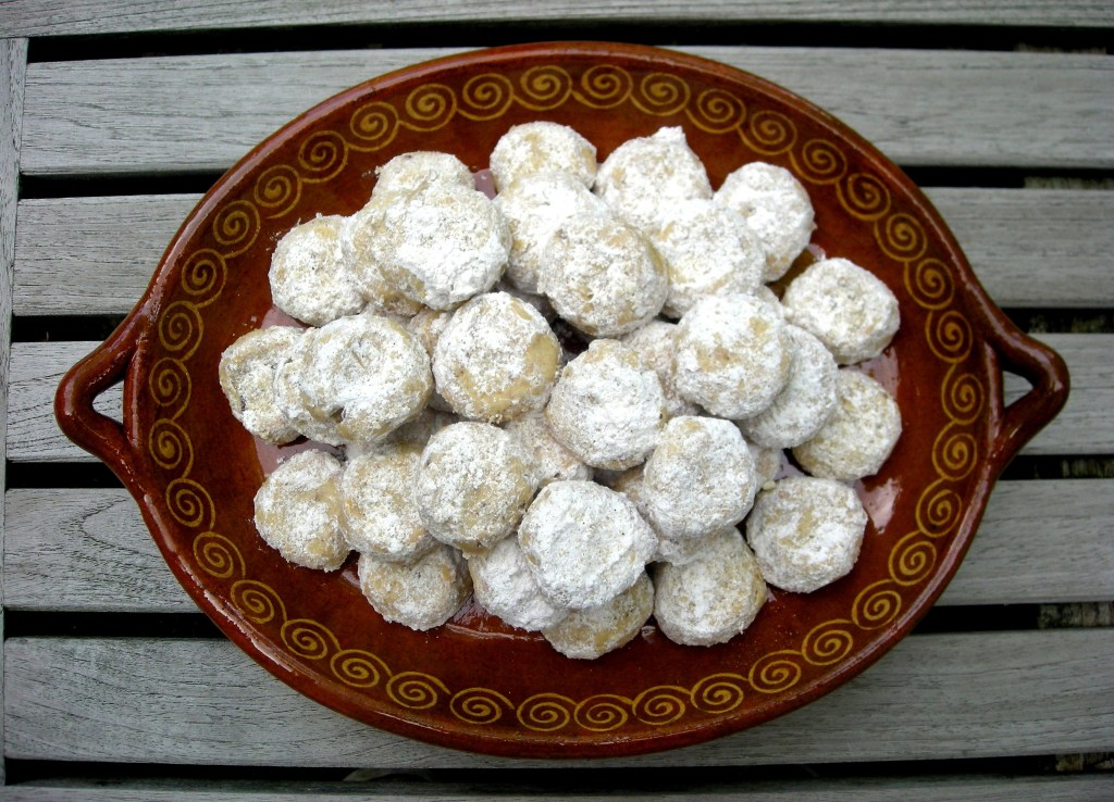 Desserts, cookies, Mexican tea cakes 1