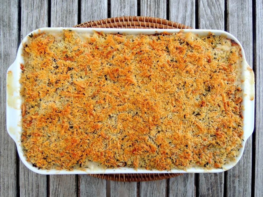 Pasta, macaroni, cauliflower macaroni and cheese 1