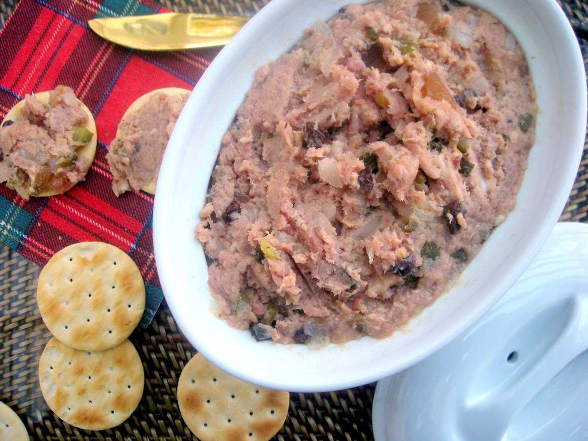 Appetizers, mousses, pates and terrines, Nana's deviled ham 1