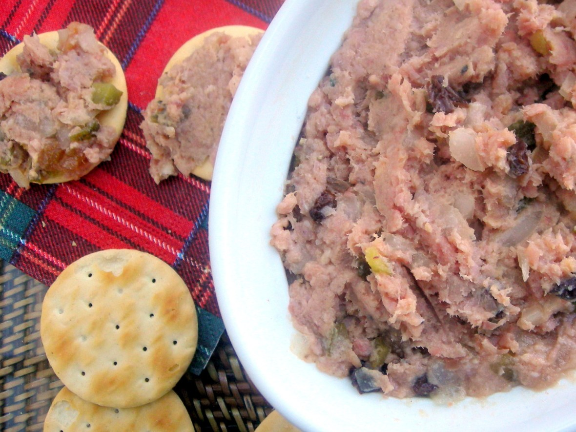 Appetizers, mousses, pates and terrines, Nana's deviled ham 2