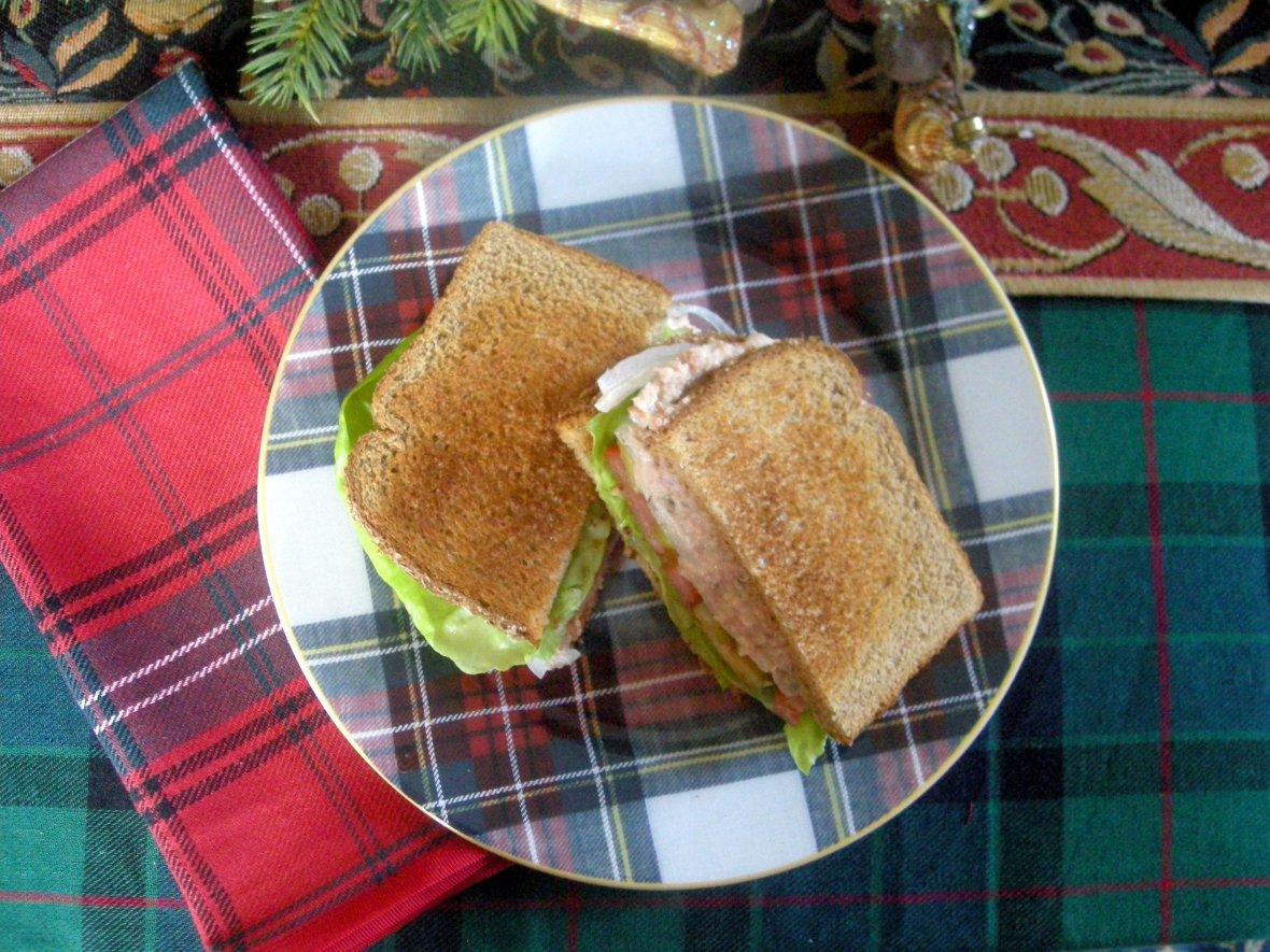 Sandwiches, deviled ham sandwich 1