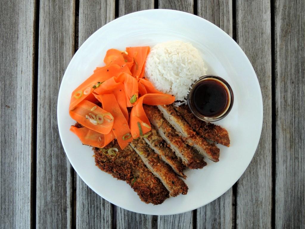 Pork, fried pork cutlets, Japanese pork katsu 3