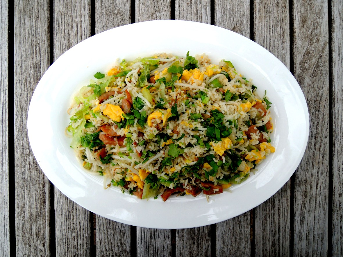 Rice, fried rice, pork fried rice 1