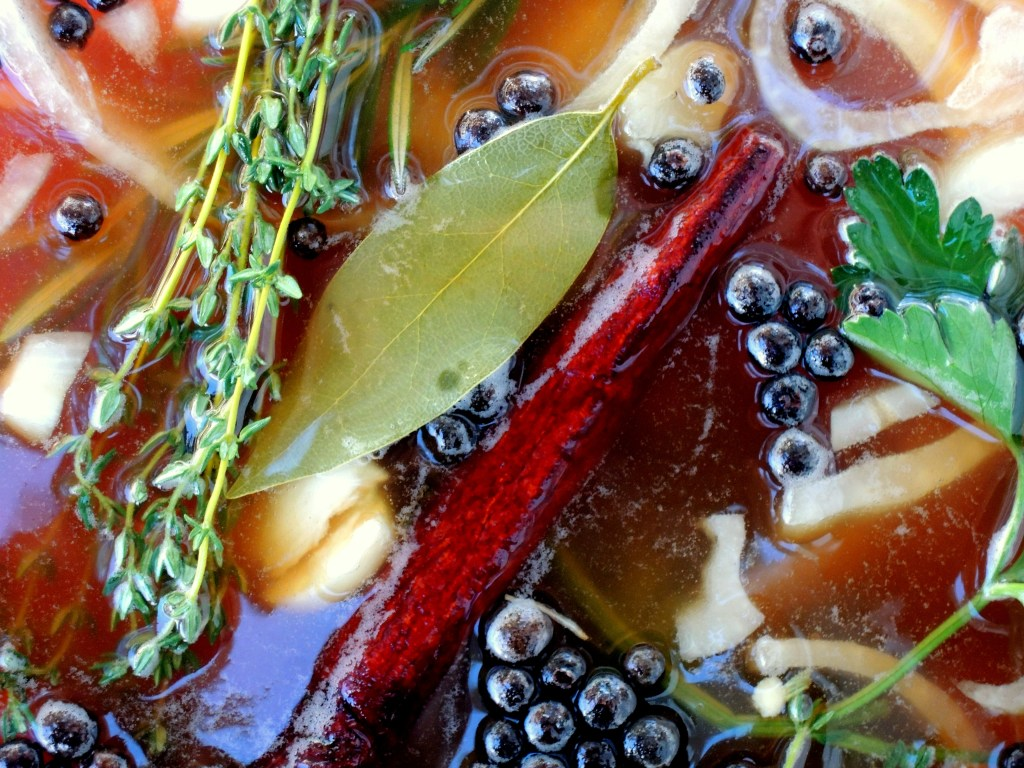 Turkey, brine, apple cider brine 2