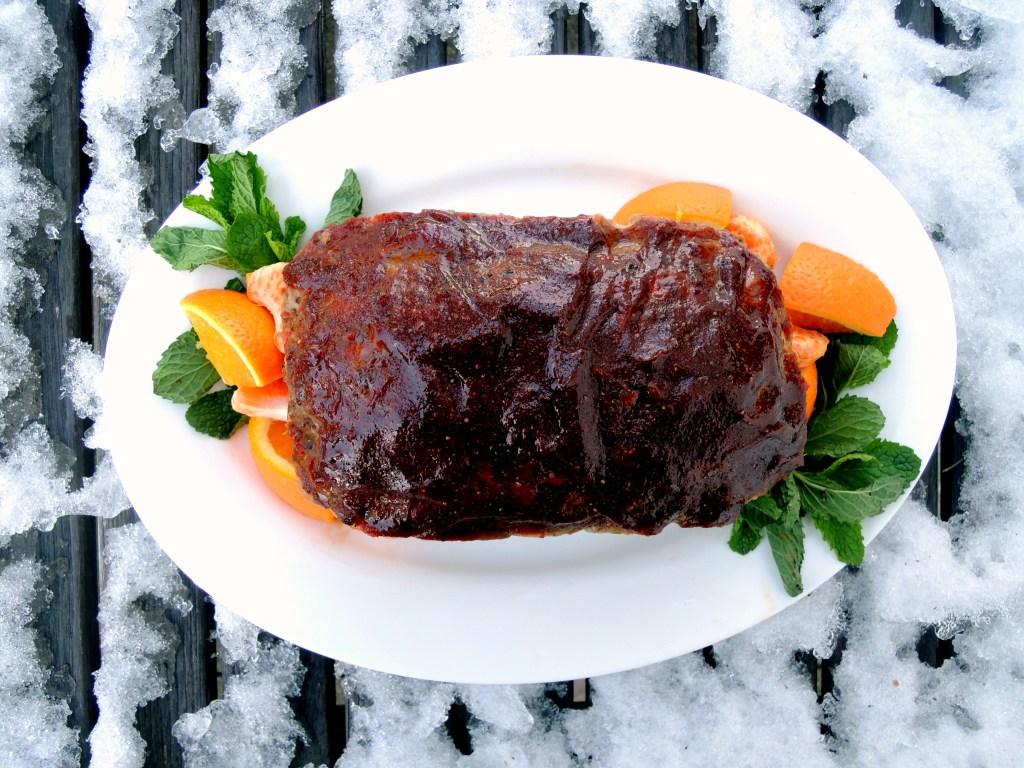 Meatloaf, tamarind glazed meatloaf 1