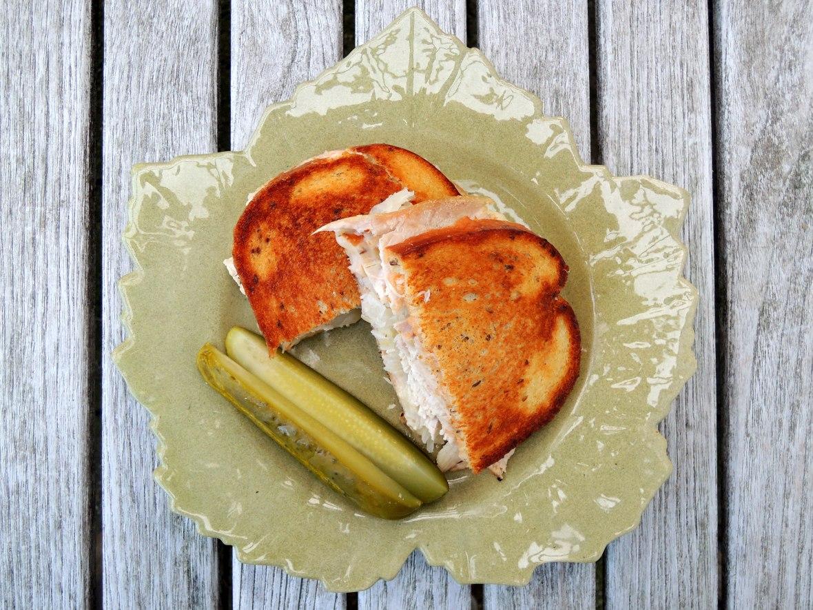Sandwiches, turkey reuben 3
