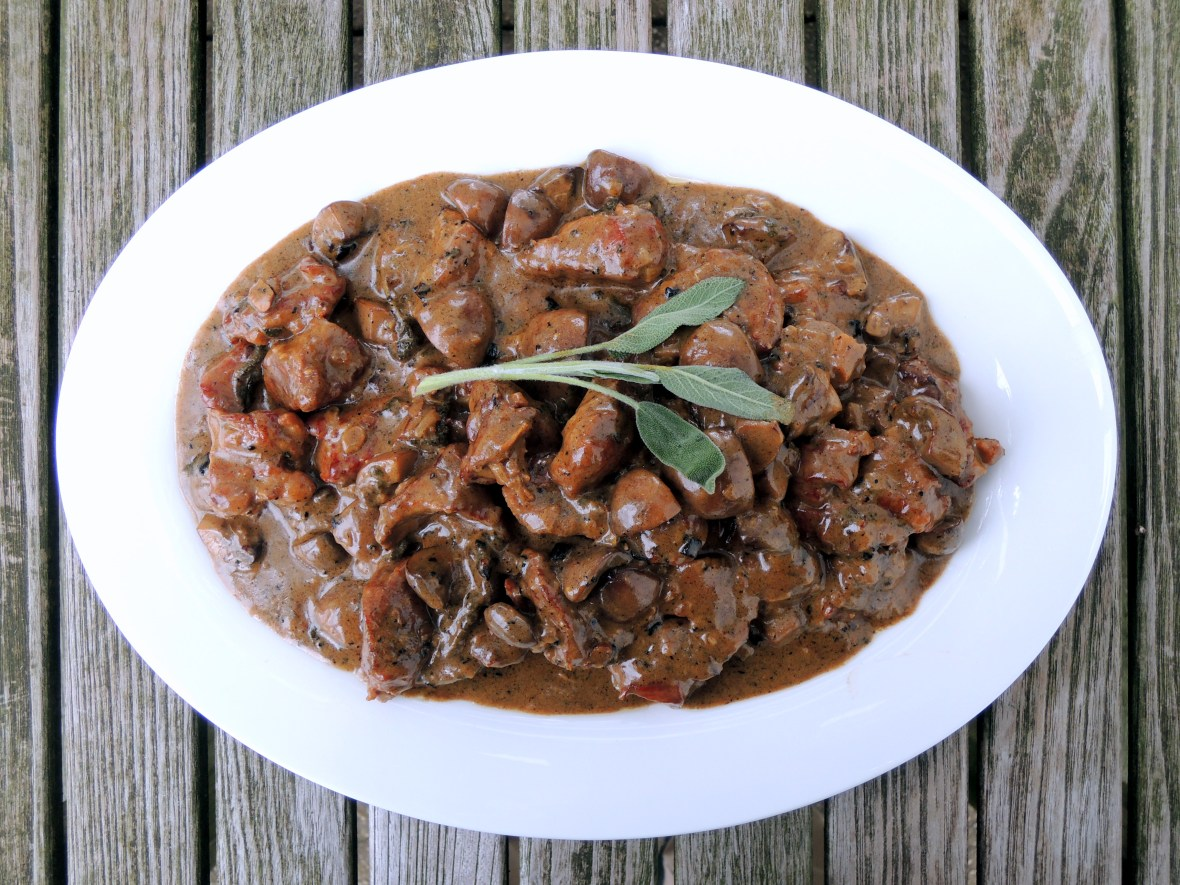 Veal, stews, veal stew with sage and white wine 1