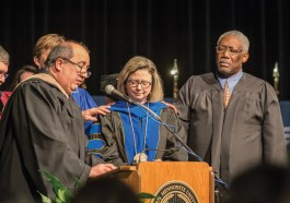 Dr. Susan Huxman inauguration ceremony