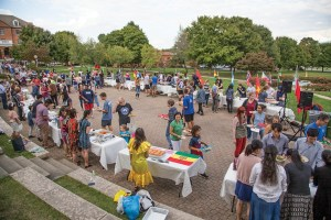 Eastern Mennonite University's fourth annual International Food Festival