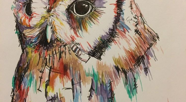 Pen and Watercolor, Lara Weaver