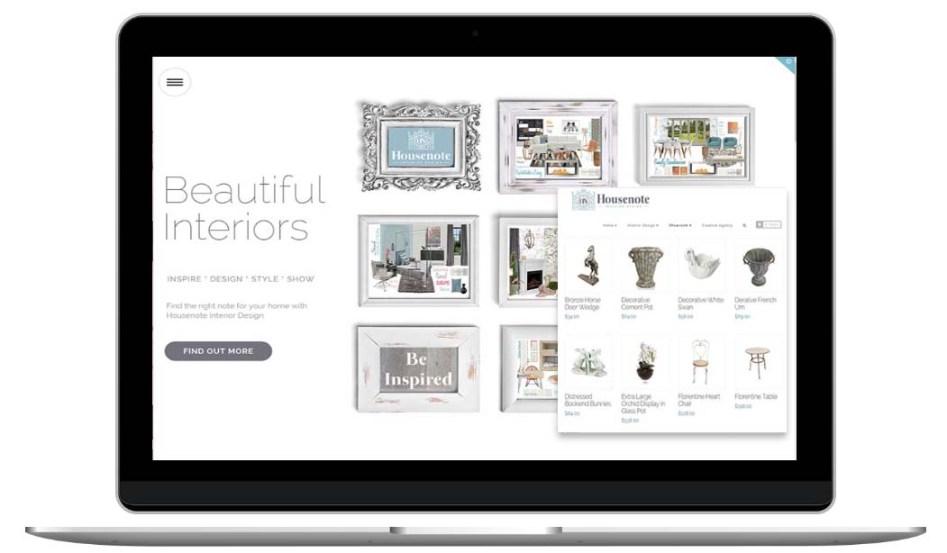Interior Design Website by The Web Composer