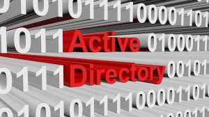 Image says Active Directory in 3D Writing