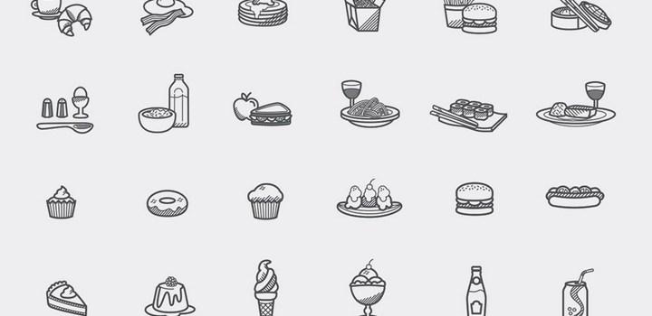 Иконки еда [Cкачать бесплатно]