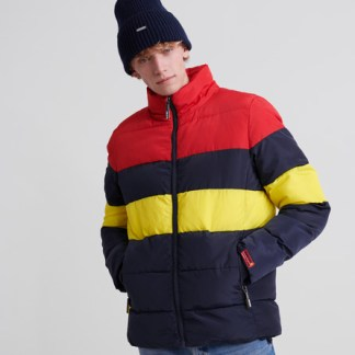 Superdry Superdry Colour Stripe Sports Puffer Jacket