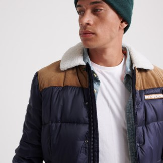 Superdry Superdry Downhill Racer Box Quilt Jacket