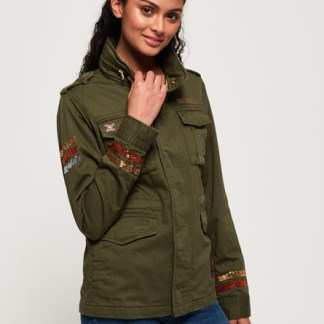 Superdry Superdry Glitter Rock Rookie Jacket