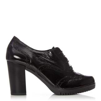 Moda In Pelle Cedri Black Patent Leather