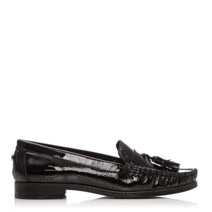 Moda In Pelle Falconi Black Patent Leather