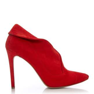 Moda In Pelle Kimme Red Suede
