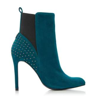 Moda In Pelle Martine Teal Suede