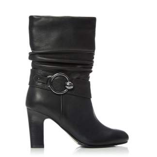 Moda In Pelle Pralie Black Leather