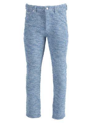 Kimono Denim Pants Blue