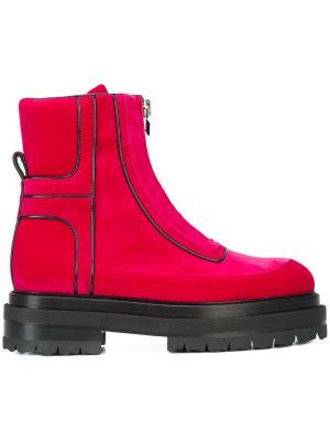 Machina Metallic Ankle Boots