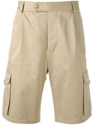 Multi Pockets Logo Patch Shorts