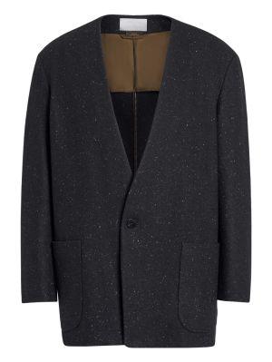Fearofgodzegna Black One Button Jacket