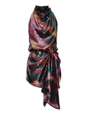 Multicolored Sequin Mini Dress