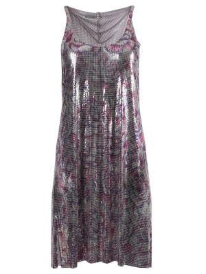 Floral Print Chain-link Dress