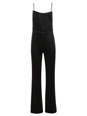 Beaded Jumpsuit, Black