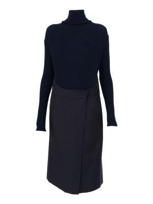 Long Sleeve Apron Dress