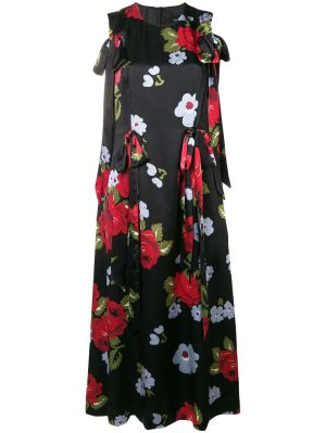 Bow Ribbon Floral Dress