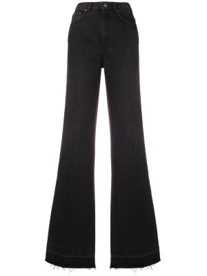 Fitted Flared Jeans