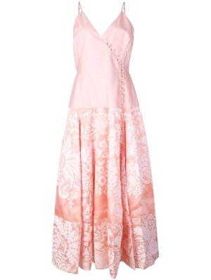 Damask Midi Dress