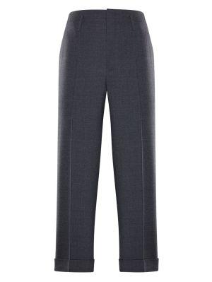 7 Moncler Fragment Hiroshi Fujiwara Grey Wool Trousers