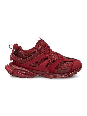 Dark Red Track Sneaker