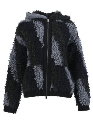 Jacket Patterned Looped Stitch
