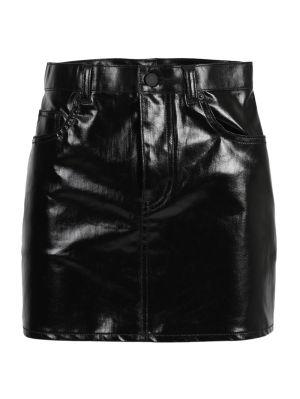 Black Classic Mini Skirt