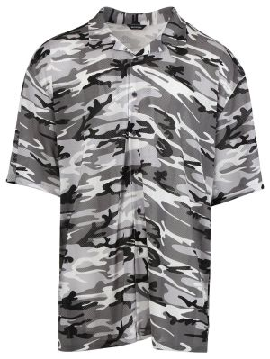 Camo Jersey Sport Shirt