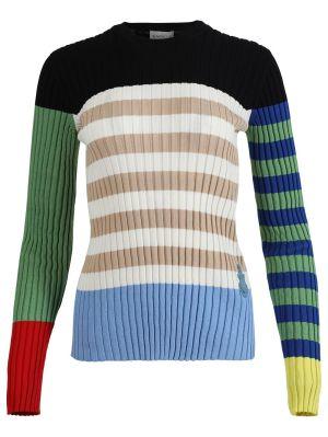 X Jw Anderson Striped Knit Top, Multicolor
