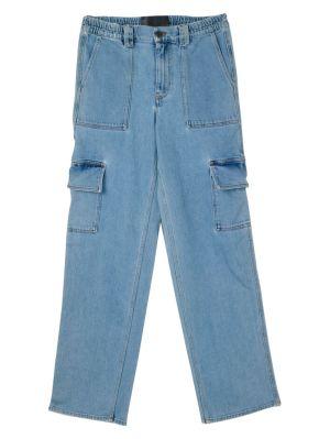 Oversized Baggy Cargo Denim Pants