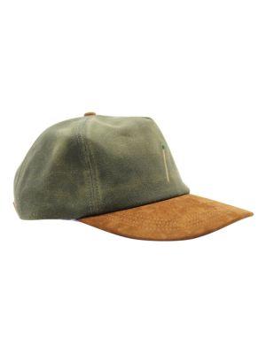 Tan And Green Baseball Cap