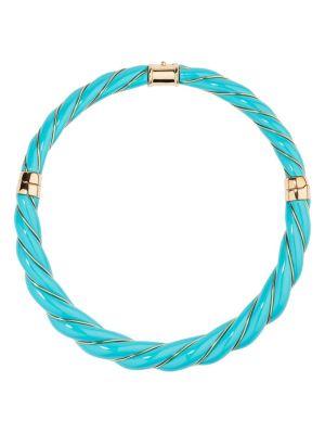 Diana Turquoise Bakelite Necklace