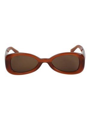 X Dries Van Noten Warm Brown Sunglasses