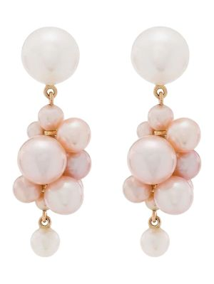 Botticelli Rose Earrings